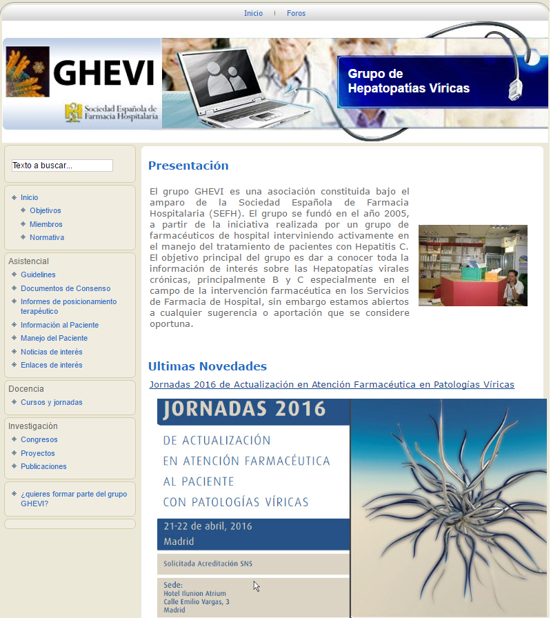 El Grupo GHEVI renueva su página web