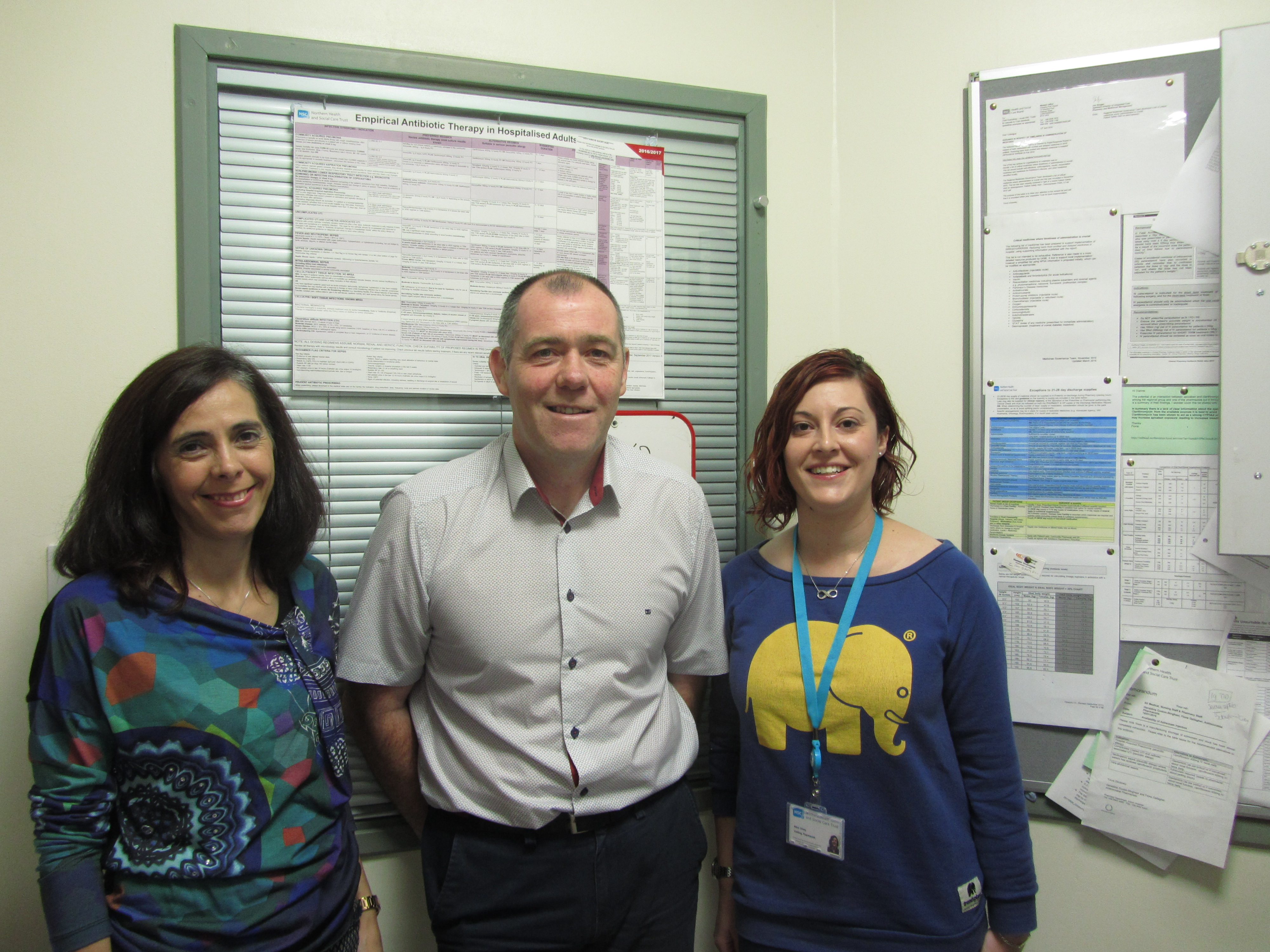 Alice Charlotte Viney, Linden Ashfield, María Teresa Pérez Maroto