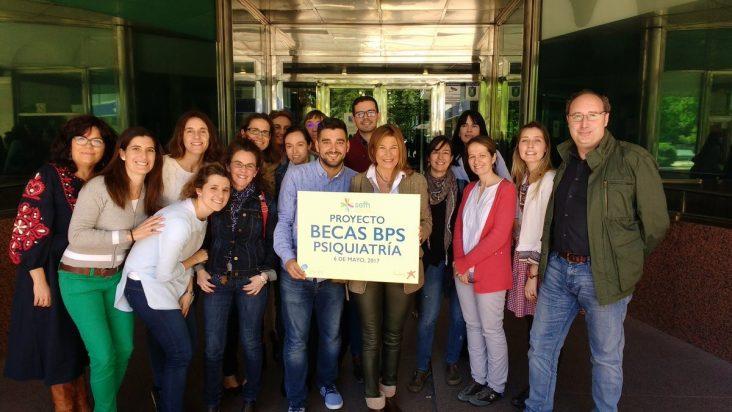 Alumnos y profesorado Curso BPS de Psiquiatría de SEFH - 2017