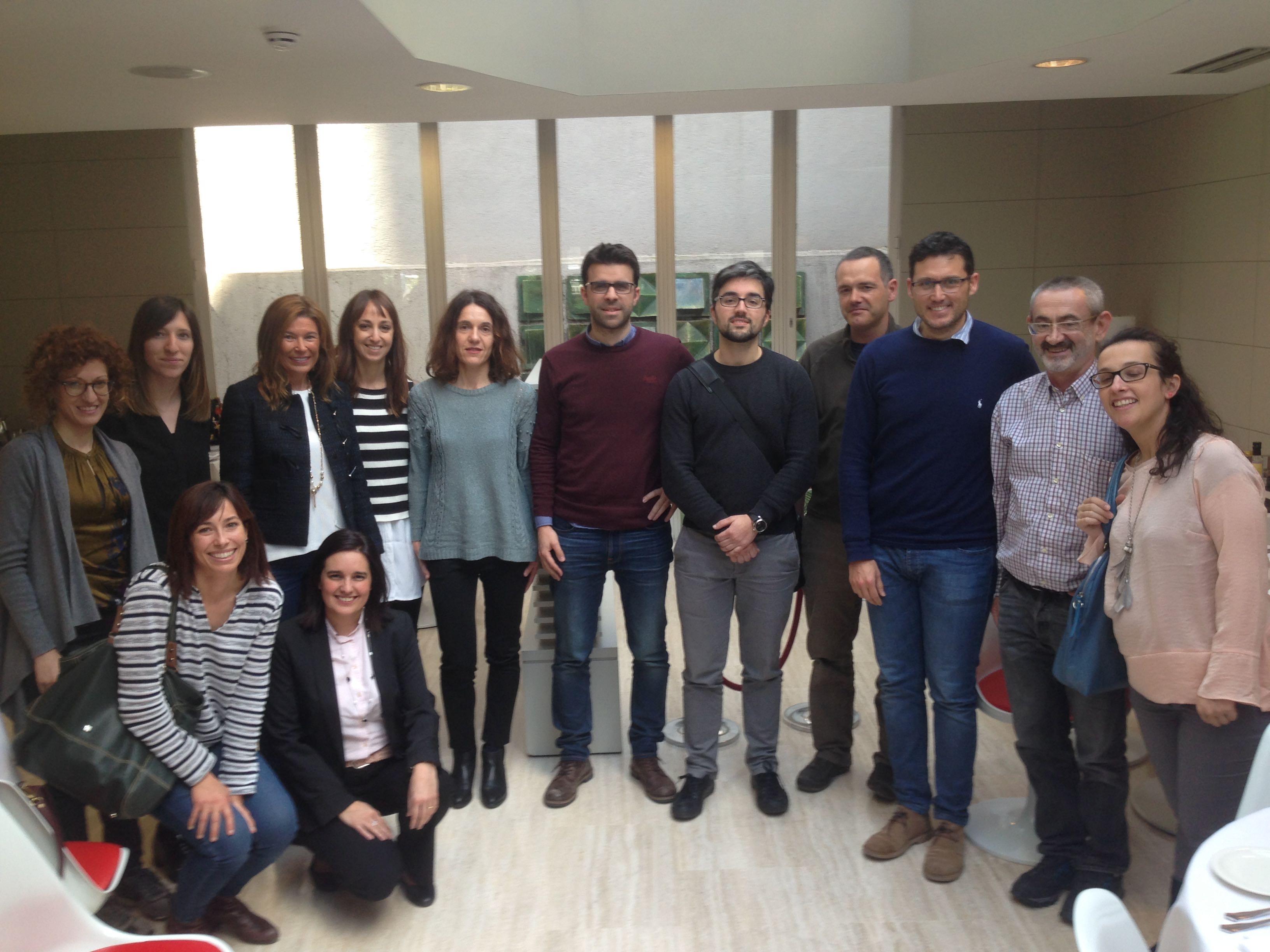 Grupo de candidatos a la certificación BCPP en la convocatoria 2018-2019