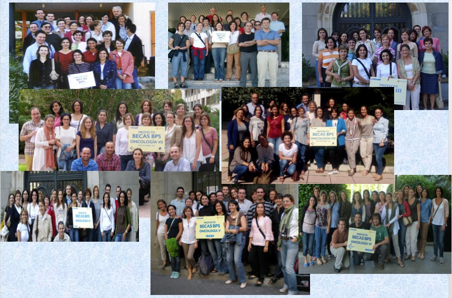 Alumnos de las ediciones anteriores del Curso BPS-BCOP de la SEFH