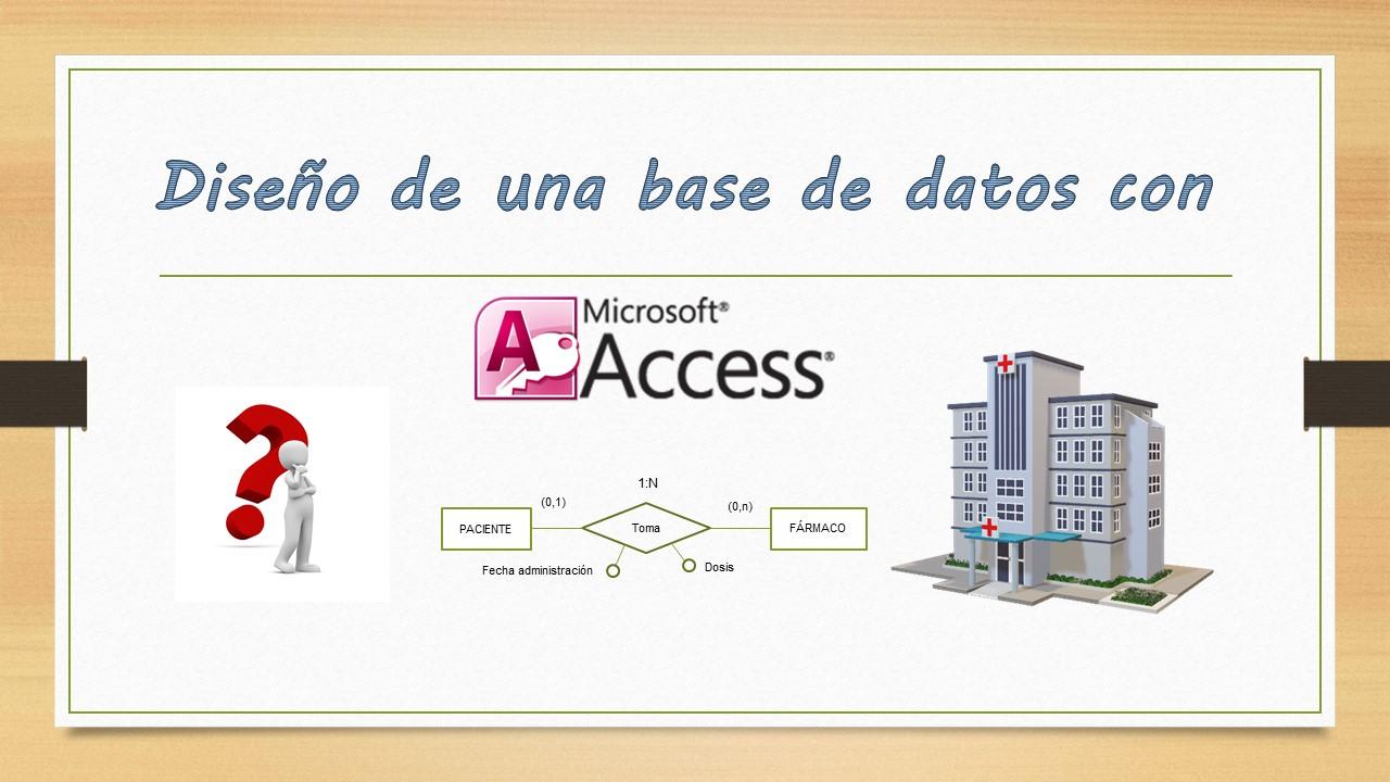 Diseño de una base de datos con Microsoft Access