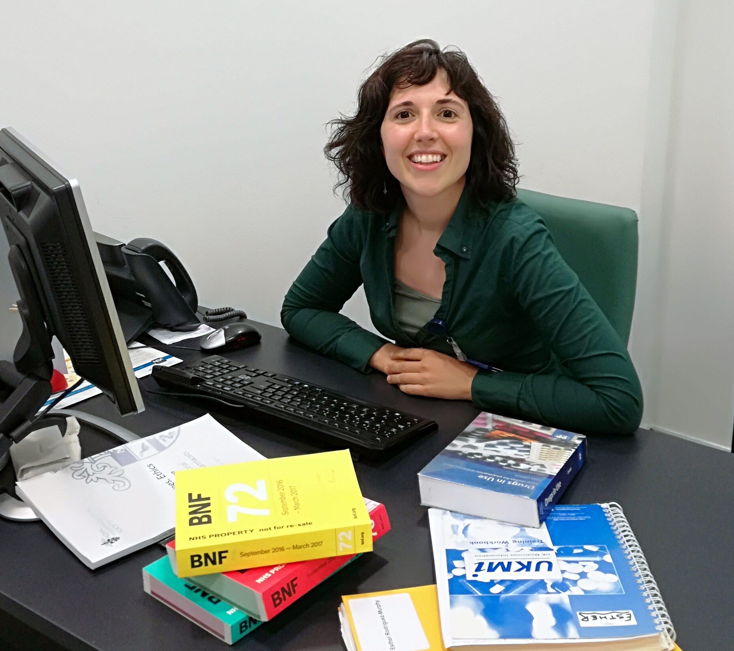 Experiencia como clinical pharmacist en el Reino Unido