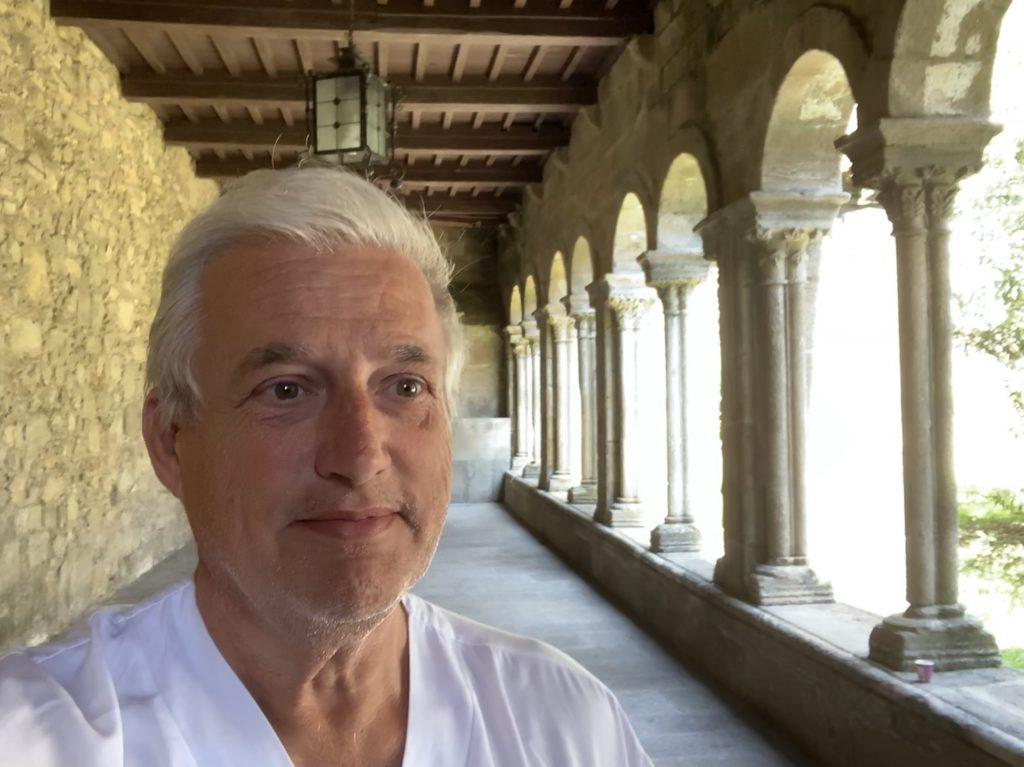 Eduardo Echarri, adjunto del Servicio de Farmacia Hospitalaria en la EOXI de Santiago de Compostela